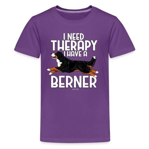 Bernese Berner Therapy 2 - Teinien premium t-paita