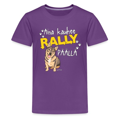 Vallhund Göötti Rally - Teinien premium t-paita