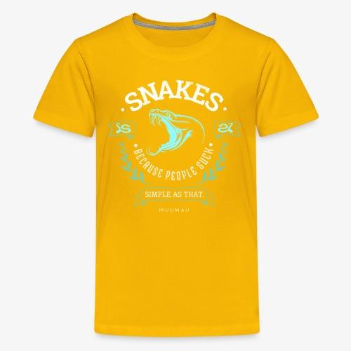 Snakes - People Suck - Teinien premium t-paita