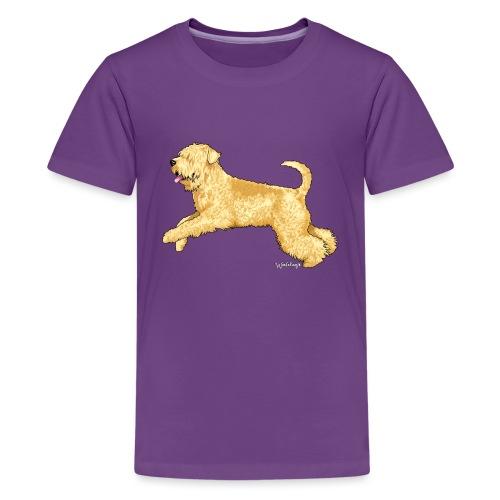 Wheaten Terrier 2 - Teenage Premium T-Shirt