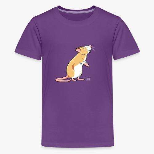 Råtta X - Teinien premium t-paita