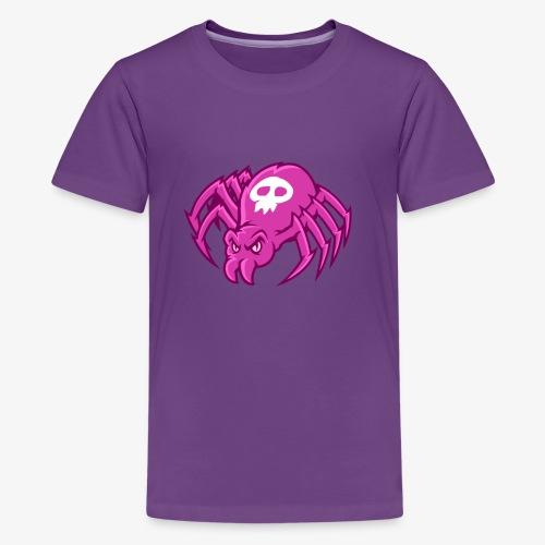 Angry Spider II - Teinien premium t-paita