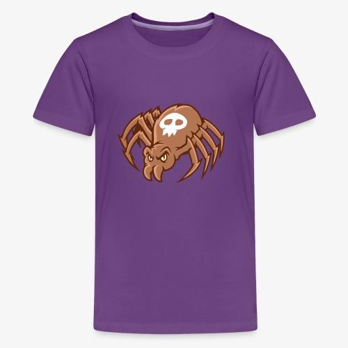 Angry Spider - Teinien premium t-paita