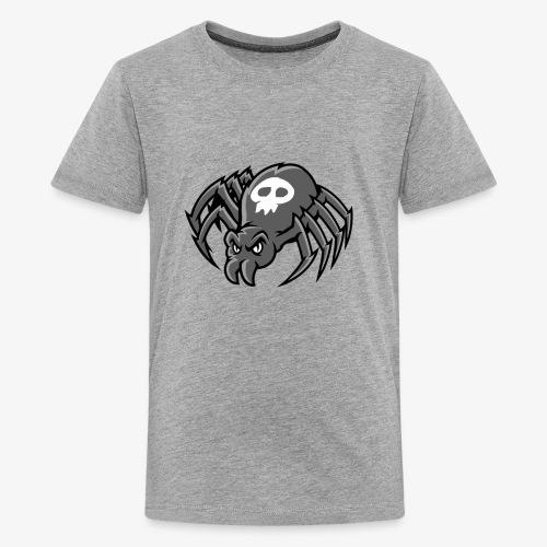 Angry Spider III - Teinien premium t-paita