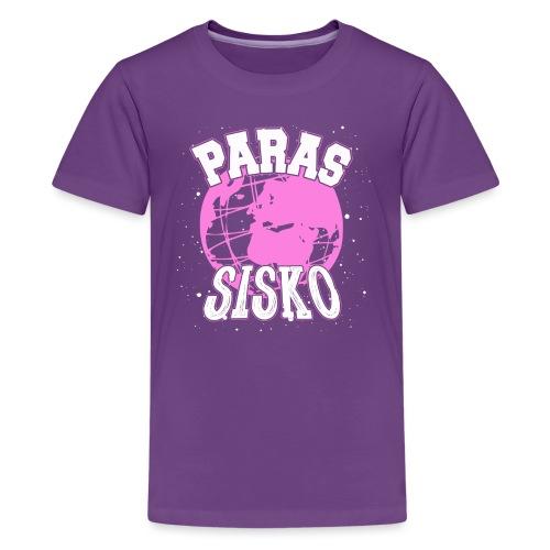 Maailman Paras Sisko - Teinien premium t-paita