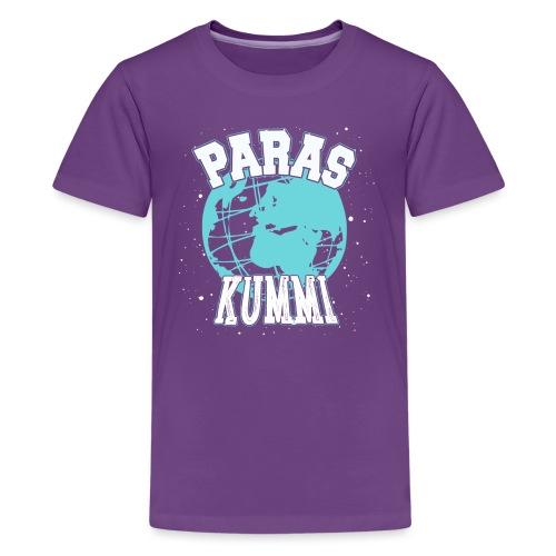 Maailman Paras Kummi - Teinien premium t-paita