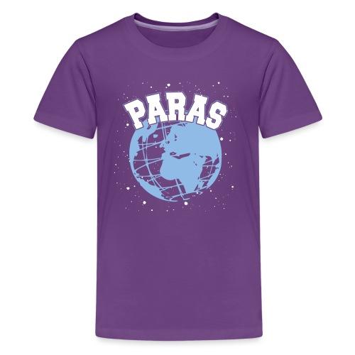 Maailman Paras Sininen - Teinien premium t-paita
