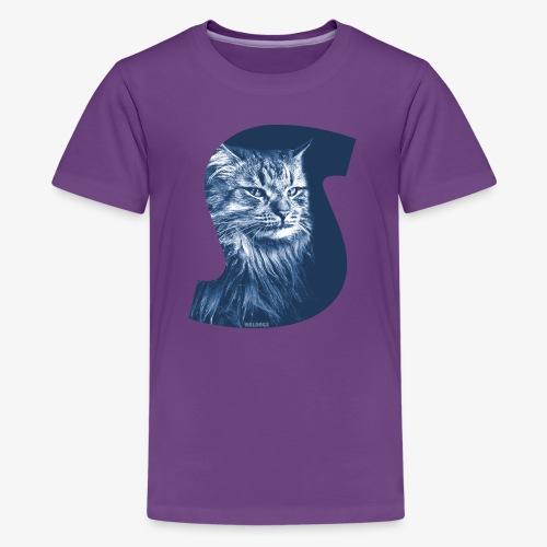 Siberian Cat S Blue - Teinien premium t-paita