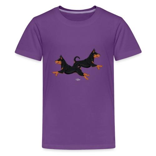 pinsupari2 - Teinien premium t-paita