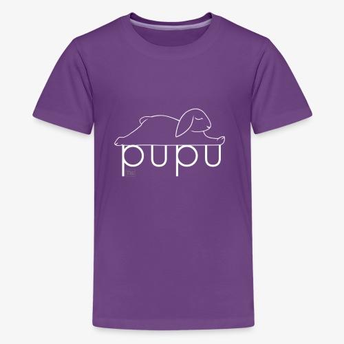Pupu - IV - Teinien premium t-paita