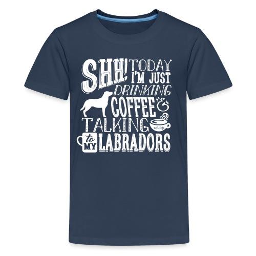 SHH Labrador Coffee 3 - Teinien premium t-paita