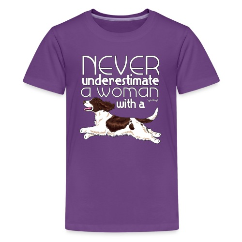 cockerunderestimate9 - Teenage Premium T-Shirt
