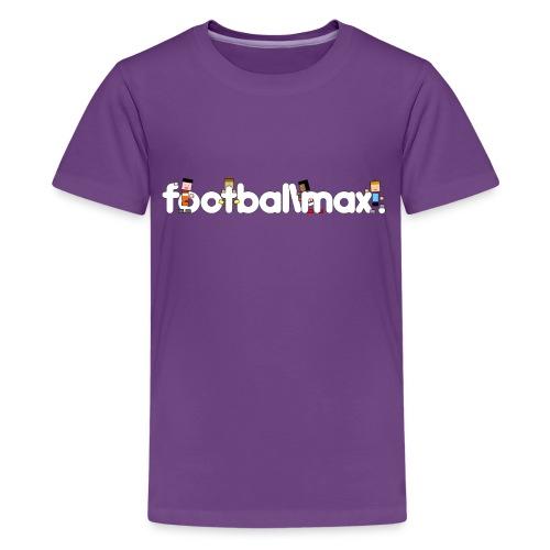 logo fmax png png - Teenage Premium T-Shirt