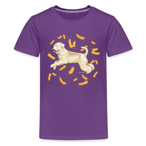 Wheat Wheaten Terrier - Teenage Premium T-Shirt