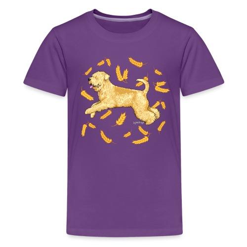 Wheat Wheaten Terrier 2 - Teenage Premium T-Shirt