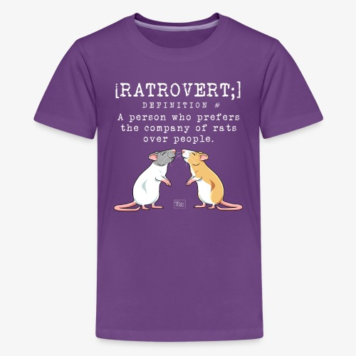 Ratrovert VI - Teinien premium t-paita