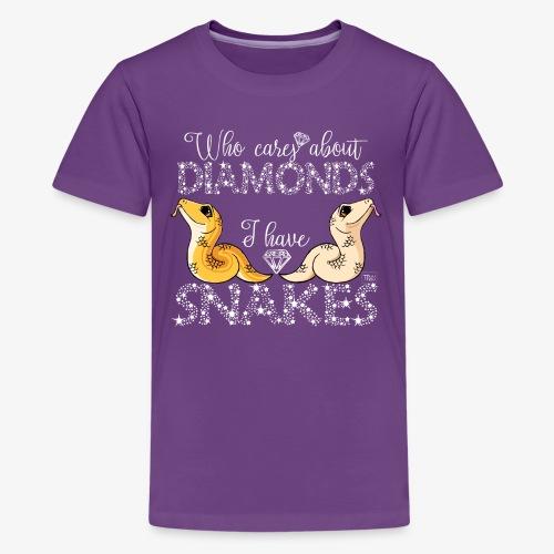Diamond Snakes III - Teinien premium t-paita