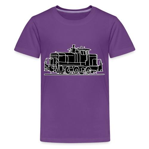 Diesel-Lokomotive 2 - Teenager Premium T-Shirt