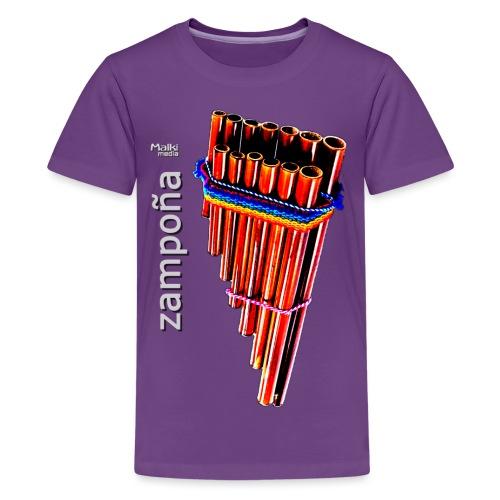 Zampoña - T-shirt Premium Ado