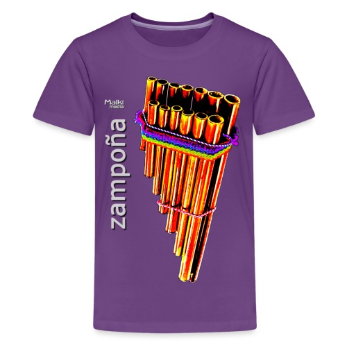 Zampoña Clara - Teenager Premium T-Shirt