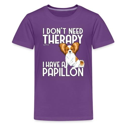 papitherapy2 - Teenage Premium T-Shirt