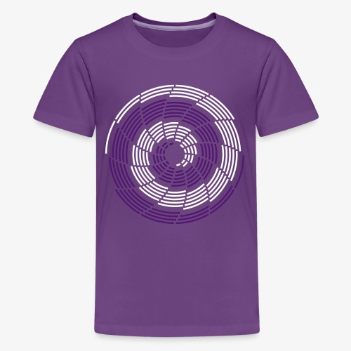 Stroke Galaxy - Teenager Premium T-Shirt