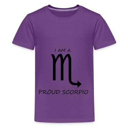 SCORPIO - Teenage Premium T-Shirt