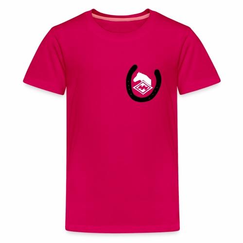 Logo Pferdekopf - Teenager Premium T-Shirt
