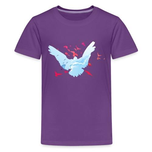 vögel - Teenager Premium T-Shirt