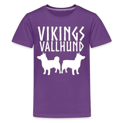 Vallhund Göötti Vikings2 - Teinien premium t-paita
