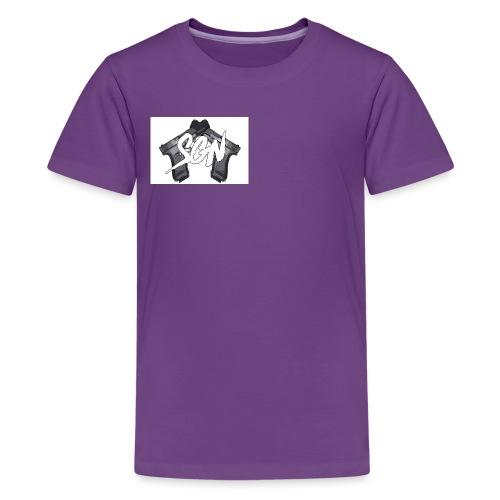 design 2 png - Teenage Premium T-Shirt