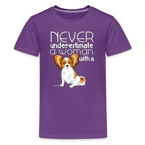 papiunderestimate2 - Teenage Premium T-Shirt