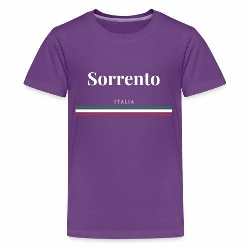Sorrente, Italie - T-shirt Premium Ado