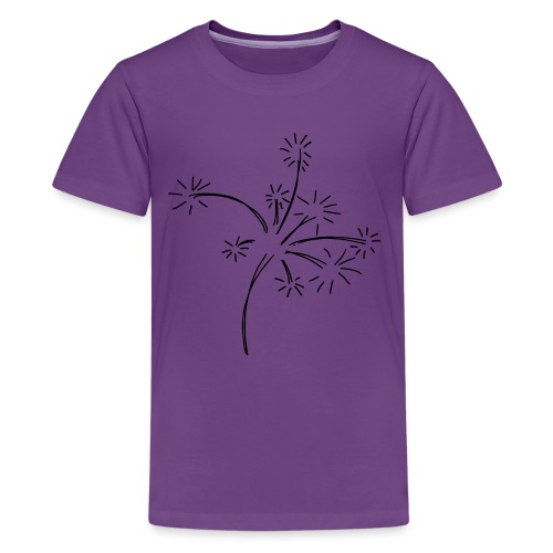 Feuerwerk - Teenager Premium T-Shirt