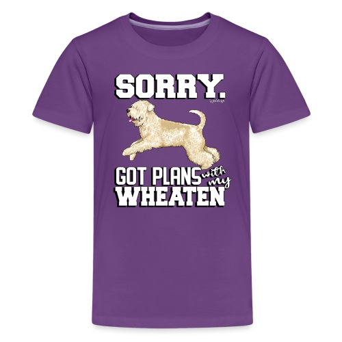 Wheaten Terrier Plans 2 - Teenage Premium T-Shirt