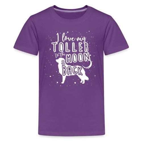 Toller Moon 02 - Teinien premium t-paita