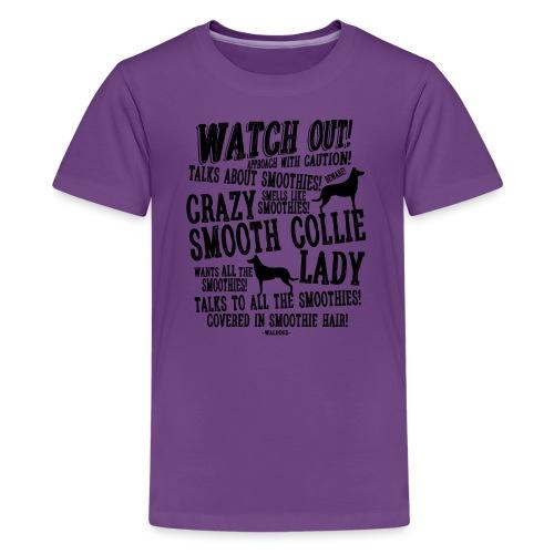 Watch Out Smoothie B - Teinien premium t-paita