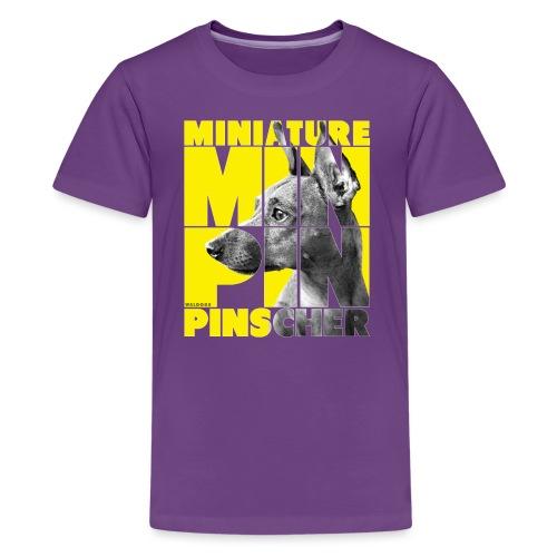 Minpin V - Teinien premium t-paita