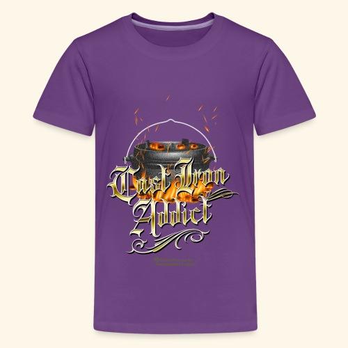 Cast Iron Addict - Teenager Premium T-Shirt