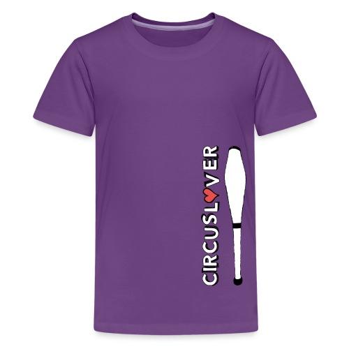 CIRCUSLOVER -JUGGLING CLUBS - CIRCUS JUGGLER - Maglietta Premium per ragazzi