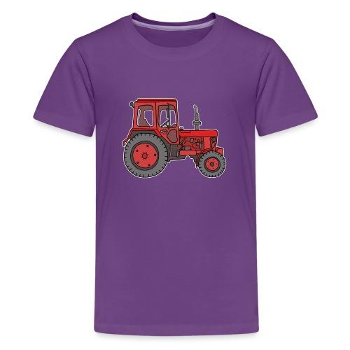 Roter Traktor / Trecker - Teenager Premium T-Shirt