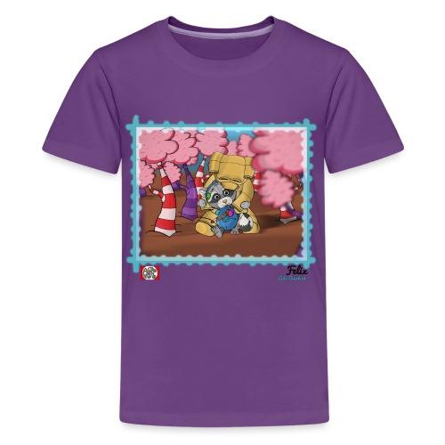 Felix - Teenager premium T-shirt