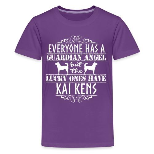 Kai Ken Angels - Teinien premium t-paita