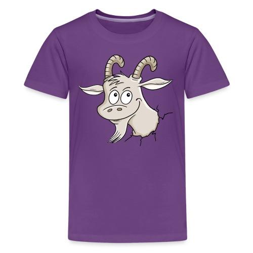 Steinbock - Teenager Premium T-Shirt