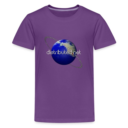 full logo border - Teenage Premium T-Shirt