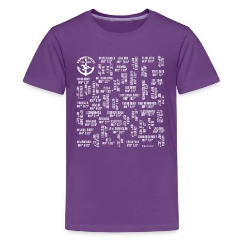 SAARISTOMERI SAARET Merelliset tekstiilit, lahjat - Teinien premium t-paita