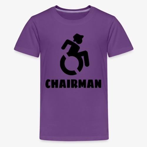Rolstoel man 001 - Teenager Premium T-shirt