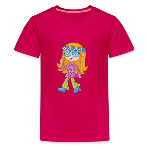 Hippie Girl - Teenager Premium T-Shirt