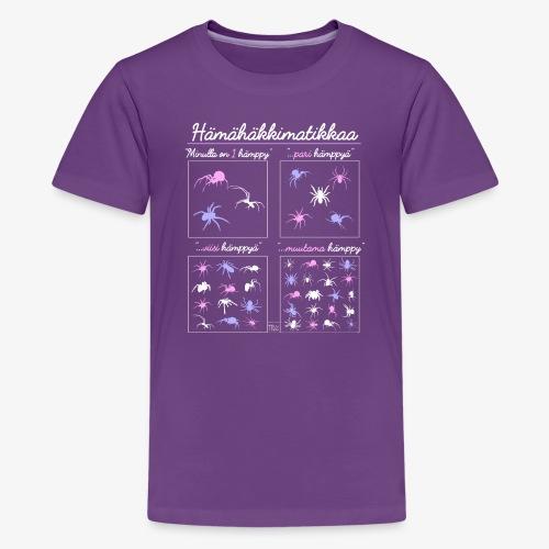 Hämismatikkaa - Teinien premium t-paita