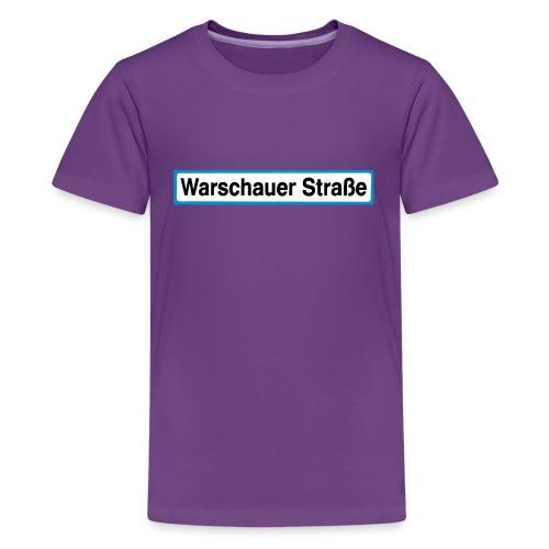 Warschauer Straße Berlin - Teenager Premium T-Shirt